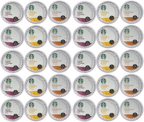 Starbucks Coffee K-Cups for Keurig Brewer 72 Piece Variety Pack (72 Count)