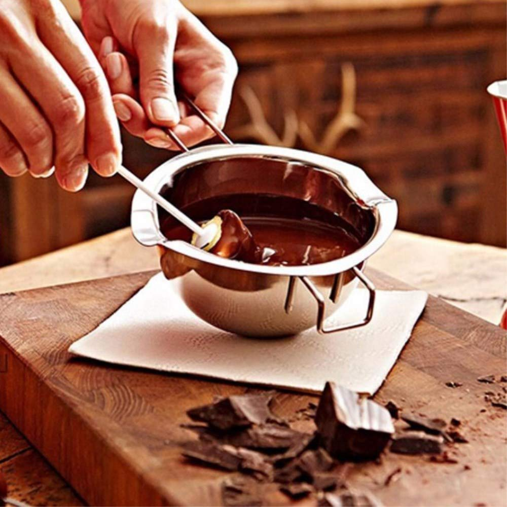 Stainless Universal Double Boiler Pot Smart Baking Tools£¬Melting Pot Butter Chocolate Cheese Caramel by GETHIS (Image #5)