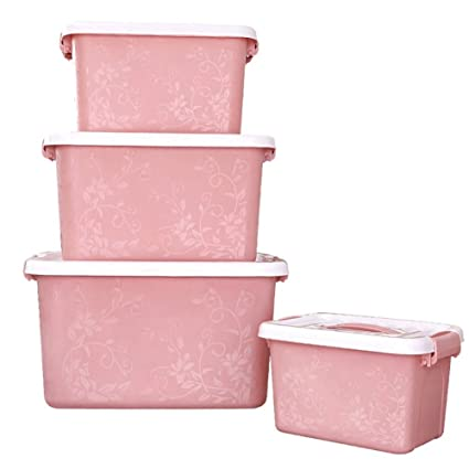 YONGHUN Portable Storage Boxes Plastic Garment Bin Many Types Clothes Storage Box Toys Snacks Storage Box  sc 1 st  Amazon.com & Amazon.com: YONGHUN Portable Storage Boxes Plastic Garment Bin Many ...