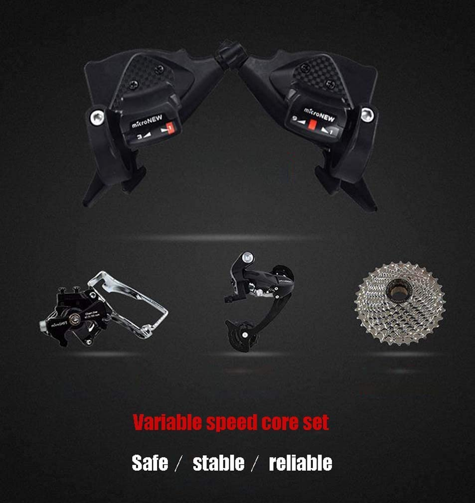 Man Woman General Purpose Aluminum Alloy Wheels 24 Inch Double Disc Brake Bicycles Beach Snowmobile Bicycle Adult Mountain Bike