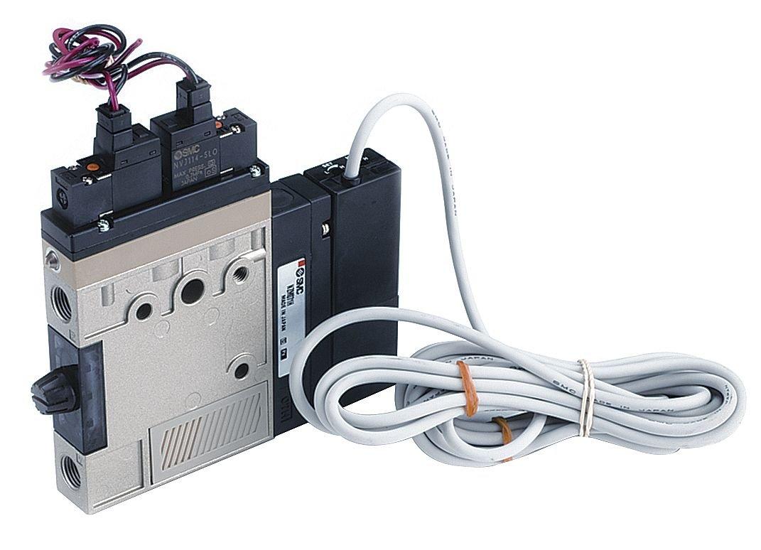 SMC - ZM131HT-K5L-E15L - Vacuum Ejector, Single Unit with 1/8 NPT Pressure Port Size and 40.0Lpm Vacuum Flow Rate by SMC