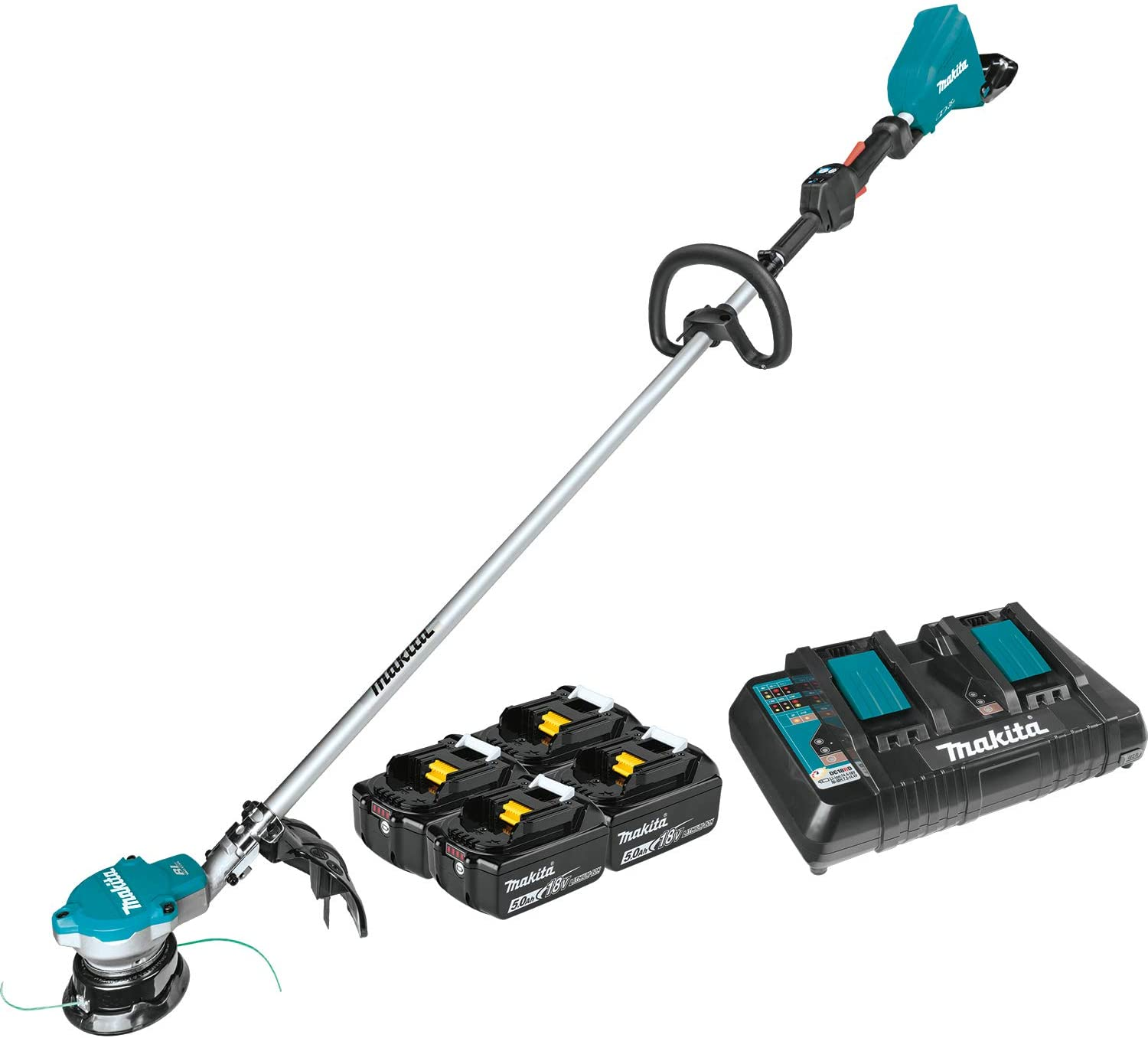 Makita XRU15PT1 Lithium-Ion Brushless Cordless (5.0Ah) 18V X2 (36V) LXT String Trimmer