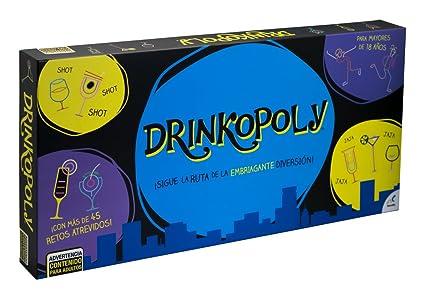 Novelty Juego De Mesa Drinkopoly Amazon Com Mx Juegos Y Juguetes