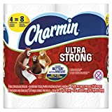 Charmin 94106 Ultra Strong Bathroom Tissue, 2-Ply, 4'' x 3.92'' (Pack of 48)