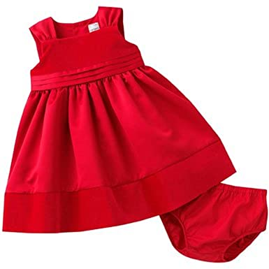 39ed296563b Image Unavailable. Image not available for. Color  Carter s Red Velvet 2  Piece Dress Set 6 Months