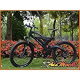 Addmotor HITHOT Electric Bicycles For Sale H2 500W 48V Bafang Rear Hub Motor 10.4AH Samsung Battery Electric Bike For Big Guys With Frok Suspension And Spring Shock Absorber