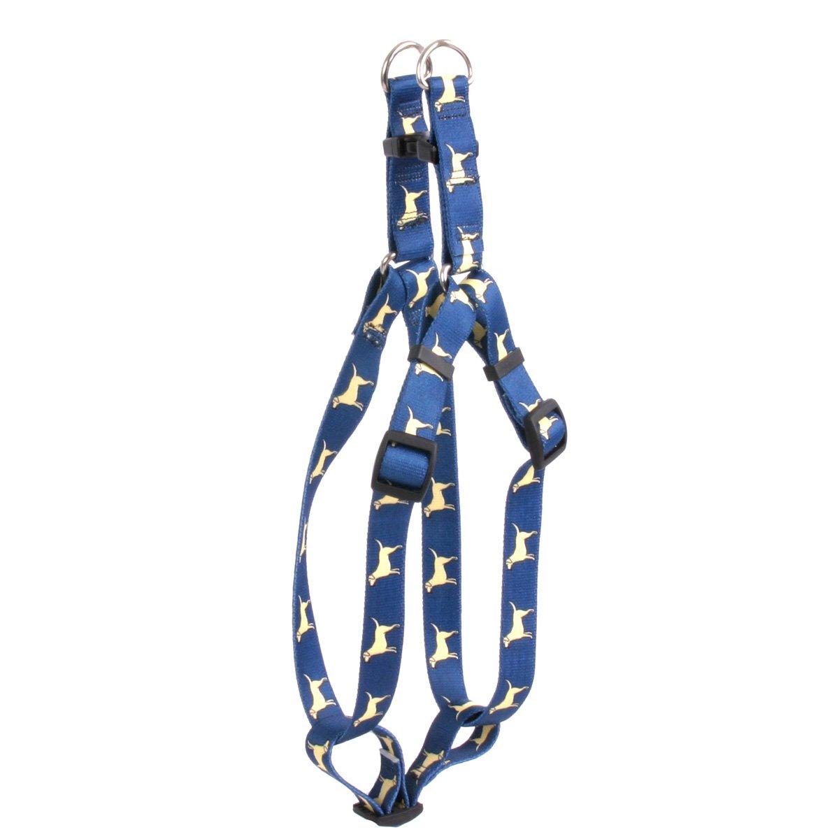 Yellow Dog Design Standard Step-in Harness, Yellow Lab, Medium 15'' - 25''