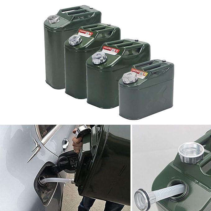 Serbatoi di carburante adatto al ravvivamento di carburanti di vari tipi di veicoli. barile di benzina per auto per barile di cherosene spesso portatile contenitore di stoccaggio di carburante