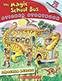 Magic School Bus: Dinosaur Rescue (Magic School Bus Sticker Storybook)