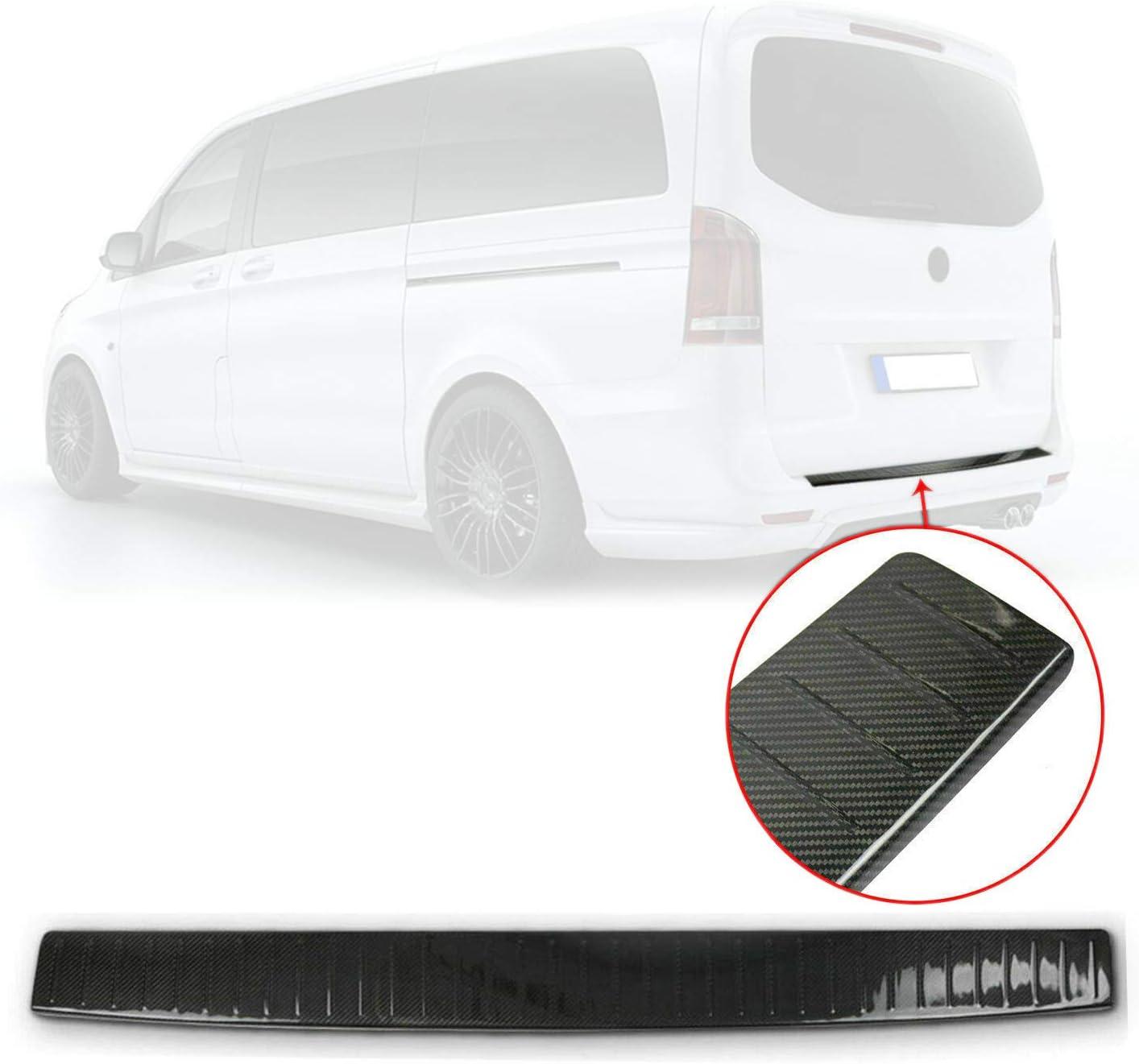 Ladekantenschutz Stoßstangenschutz Für Vito W447 2014 2020 Aus Echt Carbon Auto