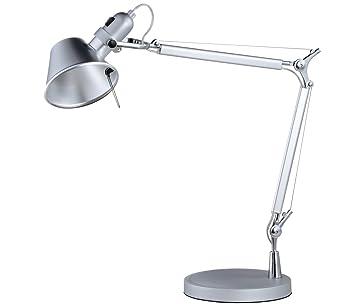 Lámpara de Sobremesa Bauhaus Aluminio: Amazon.es: Hogar