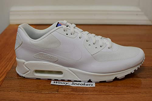 ee3eed5fcca4a9 Nike Mens Air Max 90 Hyp Qs White White 613841-110 8  Amazon.ca ...