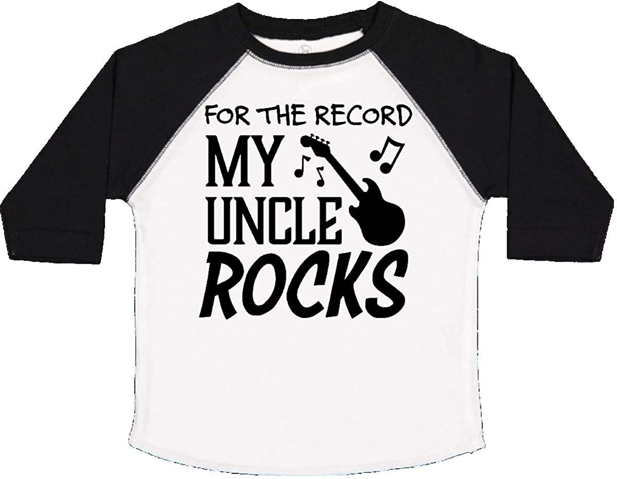 My Uncle Rocks Toddler T-Shirt inktastic for The Record