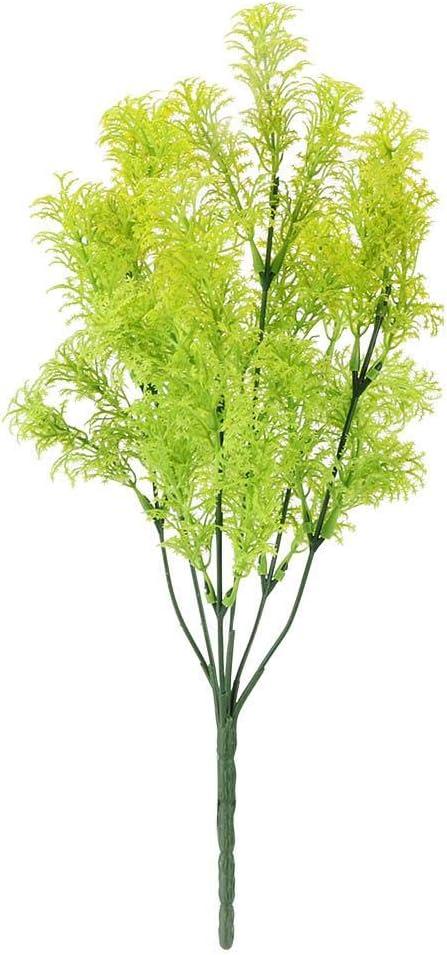 Bunch Artificial Green Leaves Seaweed Vine Flower Garden Wedding Decoration