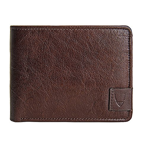 Credit Card Bills Buffalo (Hidesign Vespucci RFID Blocking Buffalo Leather Trifold Wallet (Brown))