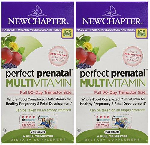 New Chapter Perfect Prenatal Multivitamin Trimester, 2 Full