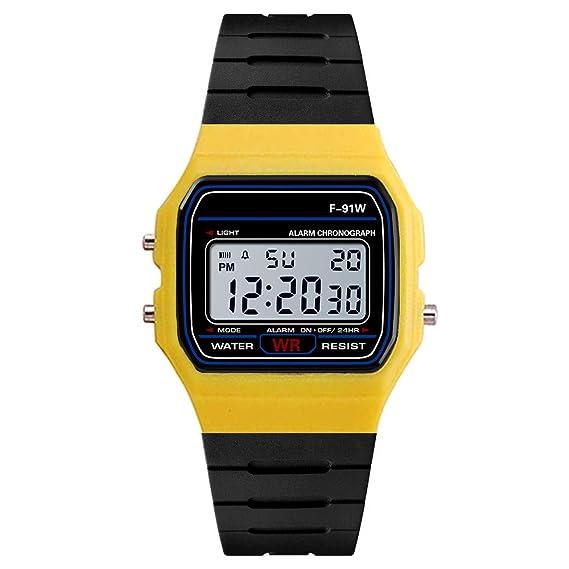 Reloj analogico Digital Militar Hombre Moda de Hombres de Lujo analógico Digital ejército Militar Deporte LED Impermeable Reloj de Pulsera Absolute: ...