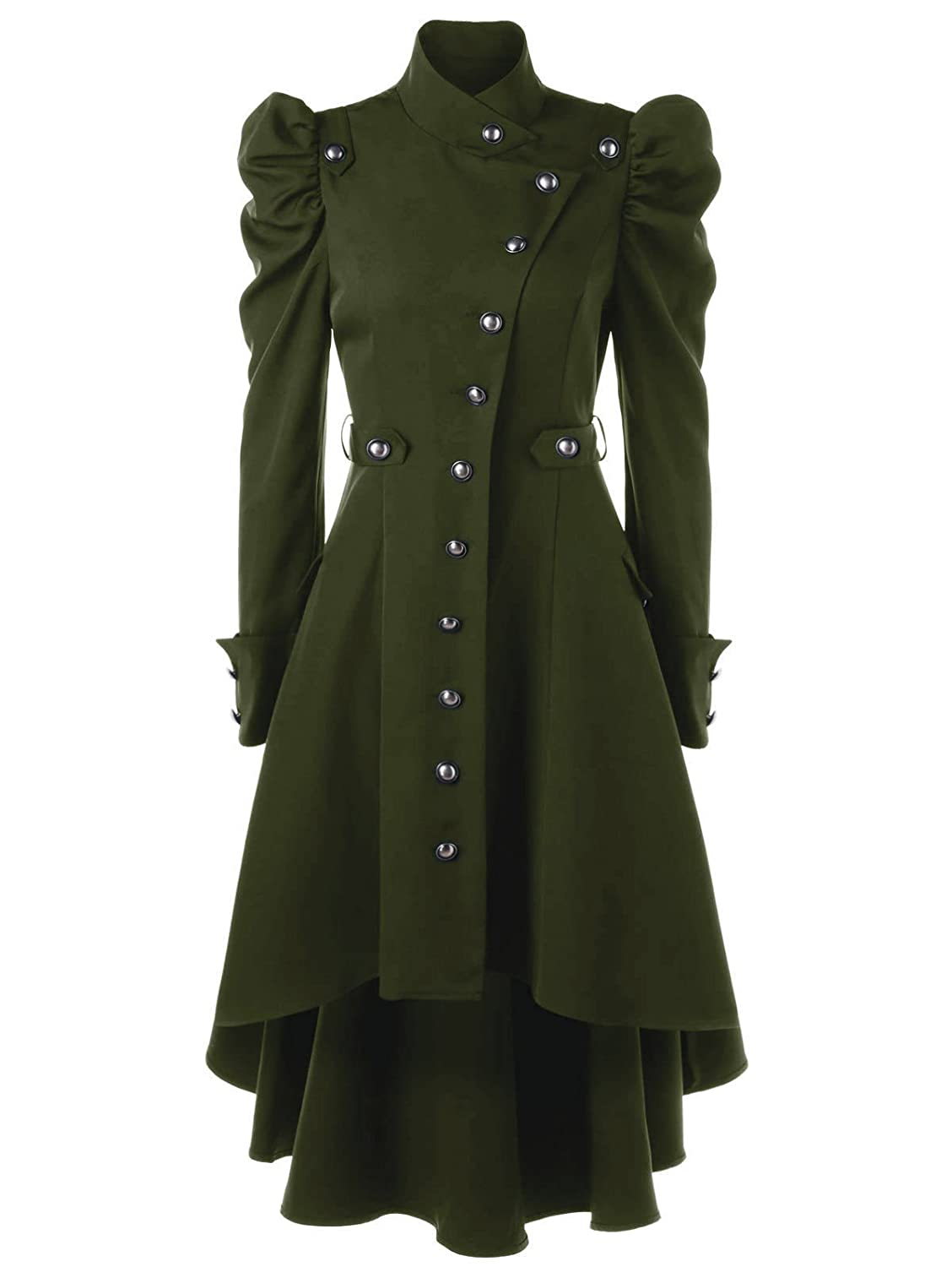 Vintage Coats & Jackets | Retro Coats and Jackets Beebeauty Gothic Vintage Womens Steampunk Victorian Swallow Tail Long Trench Coat Jacket $36.99 AT vintagedancer.com