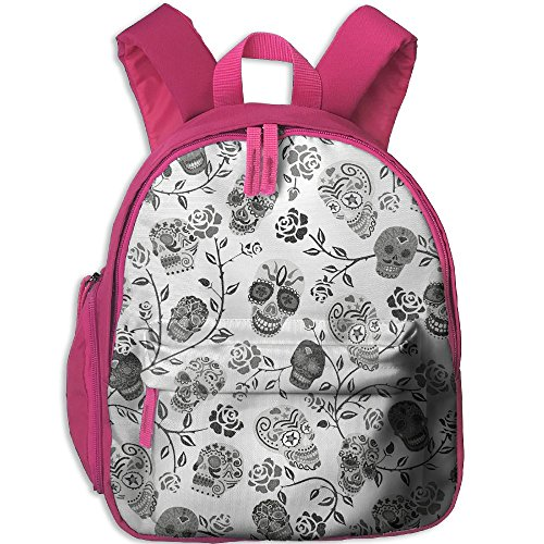 Children's Mexican Motif Skulls Rose Pattern Book Bags/Packbags School Bag For Kids