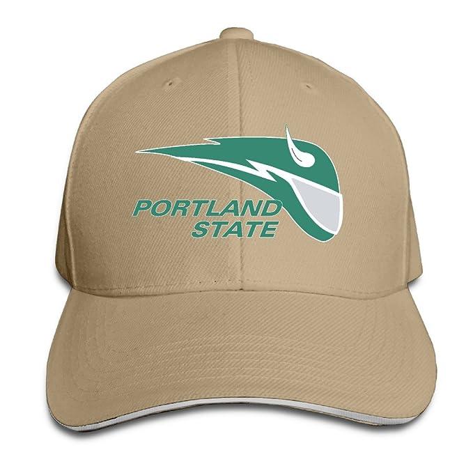 Amazon.com  Boomy Portland State University Vikings Baseball Cap Hat ... 95b87e8149c