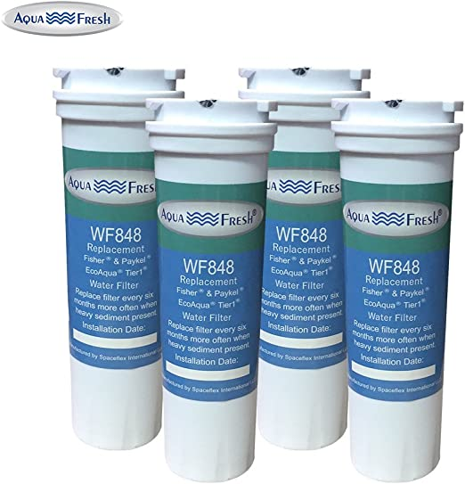 Suits for Fisher /& Paykel E442BRXFDU Fridge 836848 Replacement Water Filter