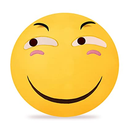 funny cute emoji smiley emoticon round cushion stuffed plush soft pillow christmas gift for friends children - Christmas Smiley Faces
