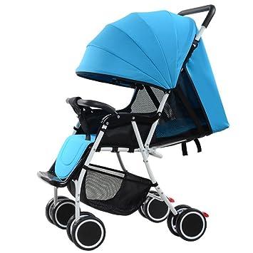 amazon com yk high view strollers folding infant jogging stroller