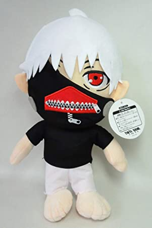 Tokyo Ghoul Peluche Kaneki Ken Pelo Blanco 30cm