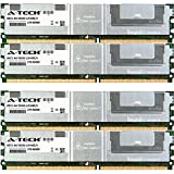 16GB KIT (4 x 4GB) For Dell PowerEdge Series 1900 1950 1950 III 1955 2900 2900 III 2950 2950 III M600 R900 SC1430. DIMM DDR2 ECC Fully Buffered PC2-4200 533MHz RAM Memory. Genuine A-Tech Brand.