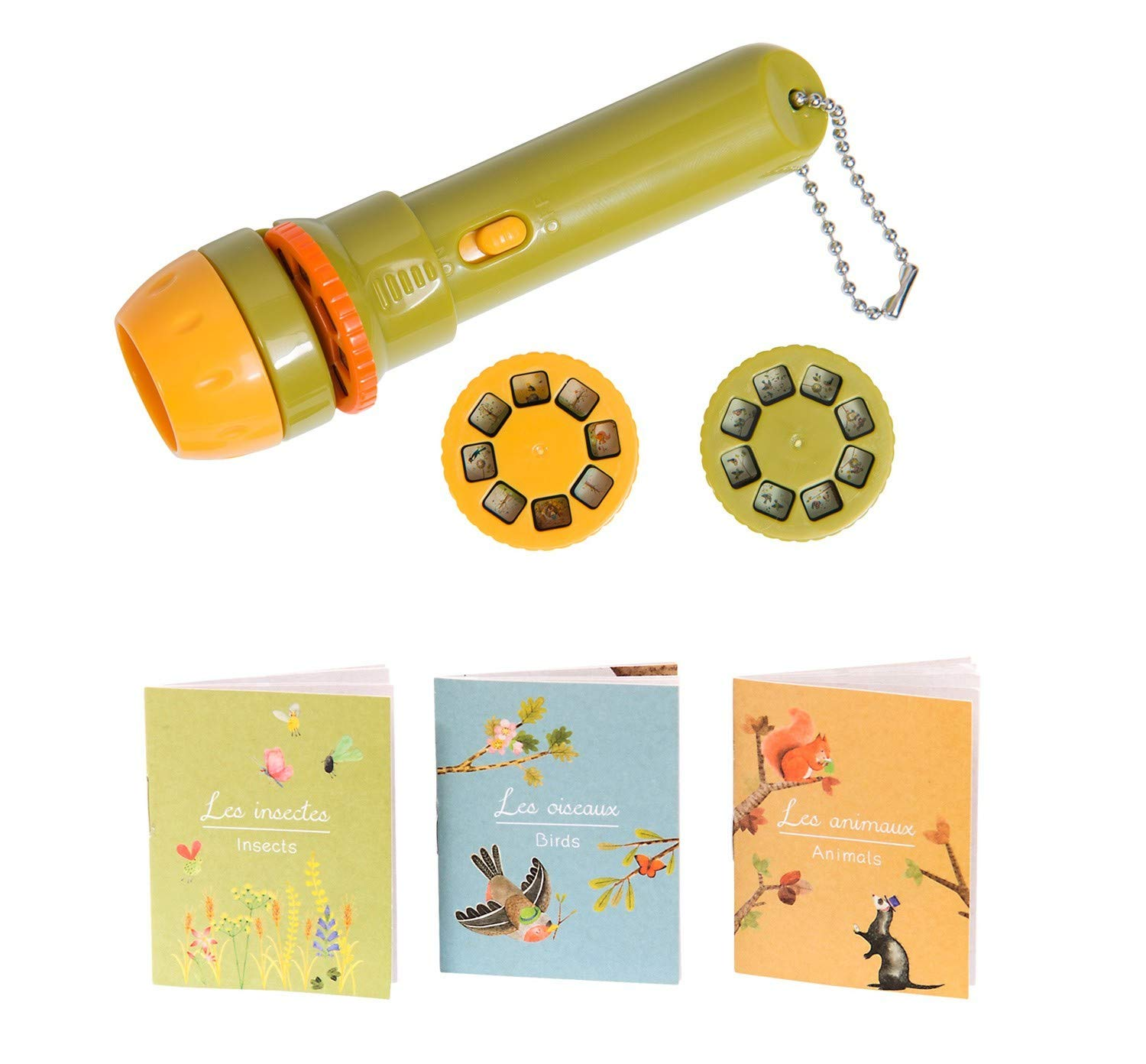 """Kids Story Flashlight Moulin Roty Storybook Torch """"Les Petites..."""