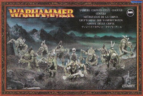 Games Workshop Warhammer Fantasy Vampire Counts Crypt Ghouls