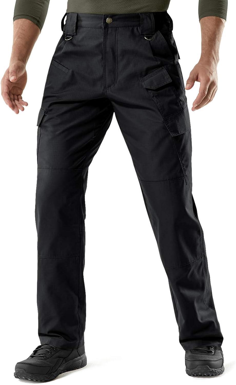 CQR Men's Tactical Pants Lightweight EDC Assault Cargo