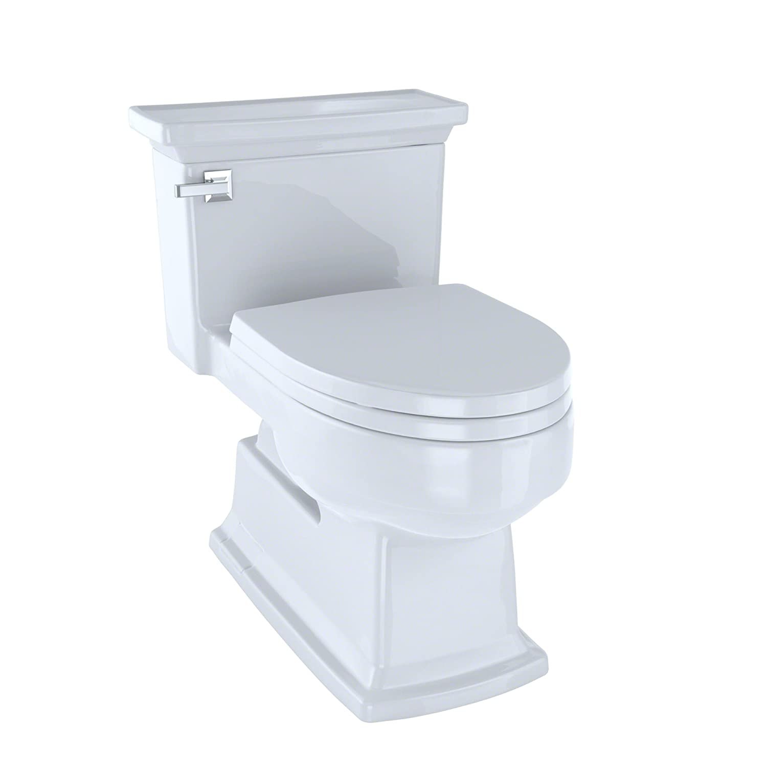 Lloyd One-Piece Toilet 1.28 GPF Cotton with SoftClose seat ...