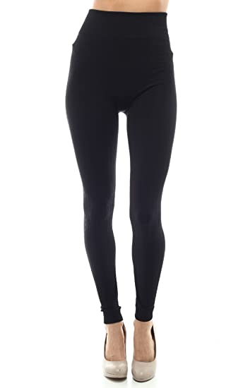 879414db5fced Women Cable Knit Fleece Lined Leggings with EttelLut Hair Band Black at  Amazon Women's Clothing store: