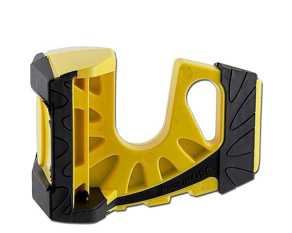 The Ultimate Door Stop Wedge-It Yellow 4 Pack