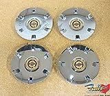 Chrysler Pacifica 17'' Inch Wheel Chrome/Gold Center Cap Set 0f 4 OEM Mopar