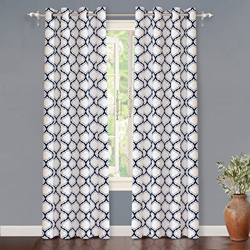 blue and white curtains - 7