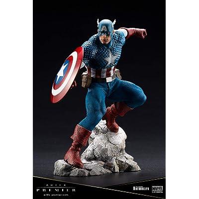 Kotobukiya Marvel Captain America Artfx Premier Statue: Toys & Games