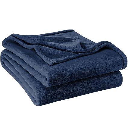 Amazon Com Bare Home Microplush Velvet Fleece Blanket Twin Twin