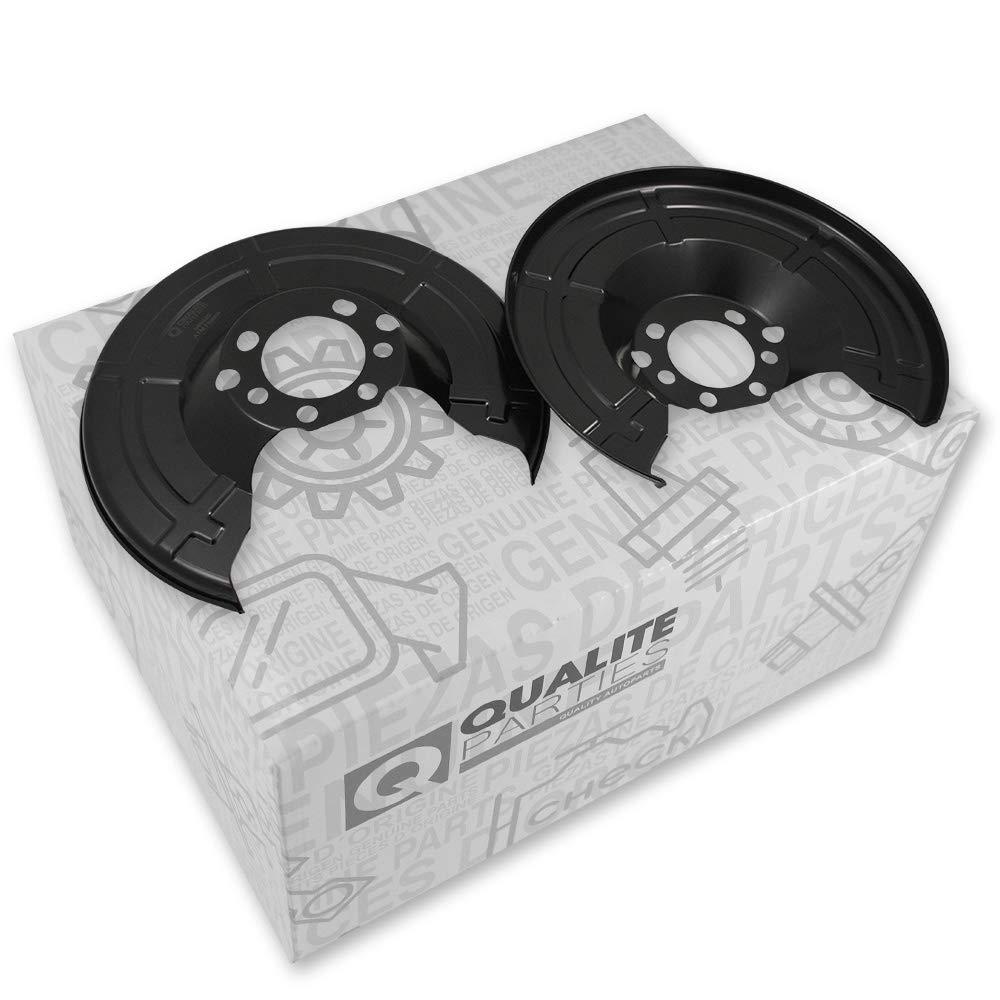 2x Deckblech Bremsscheibe Schutzblech Bremsankerblech hinten für OPEL ASTRA H