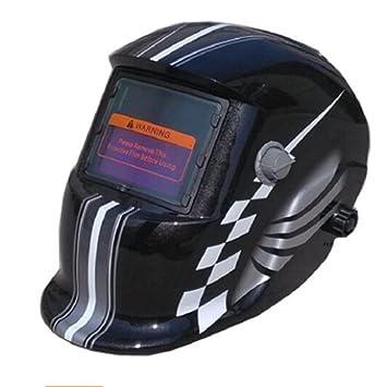 Soldadura automática de arco argón soldadura máscara soldadura casco soldado casquillo de soldadura tapa
