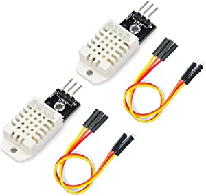 Gowoops 2 PCS DHT22 Temperature Humidity Sensor Module Digital Measurement for Arduino Raspberry Pi 2 3