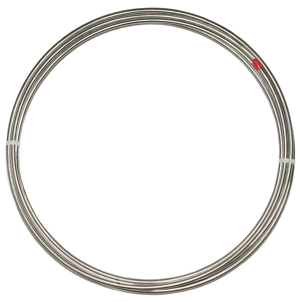 3/16' 25 ft Soft T304 Stainless Brake Line, Brake Tubing Fine Lines