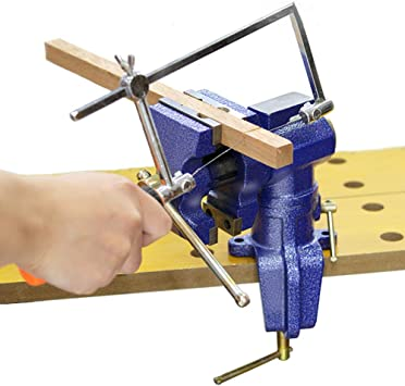 200mm 360° Heavy Duty Engineer Vice Clamp Workshop Jaw Vise Table Bench rotary