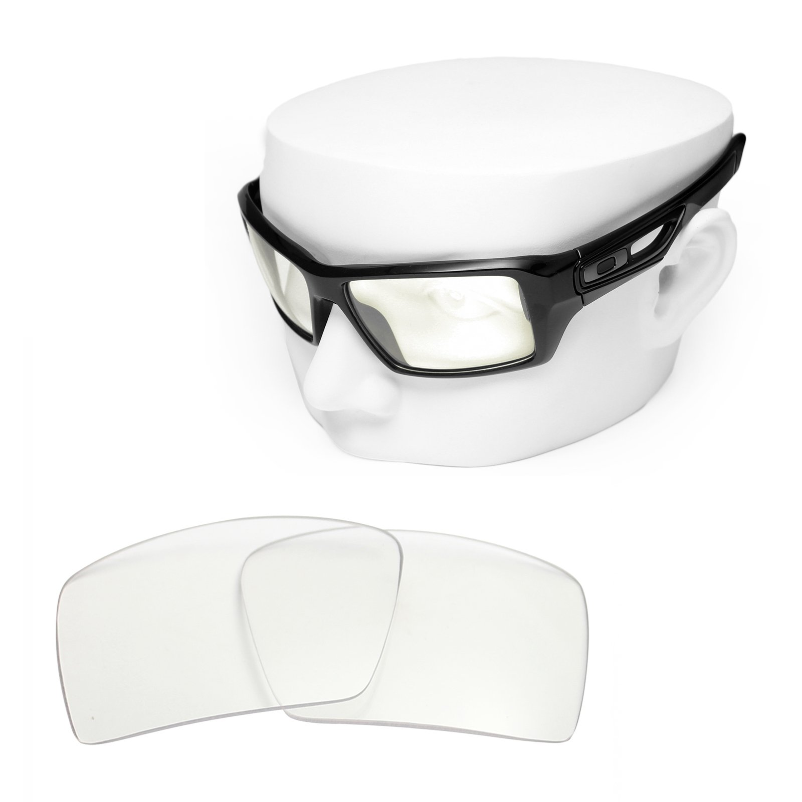 OOWLIT Replacement Sunglass Lenses for Oakley Eyepatch 2 HD Clear Non-polarized by OOWLIT