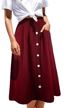 San Francisco 0fe80 8665d Odosalii - Jupe - Tulipe - Femme: Amazon.fr: Vêtements et ...