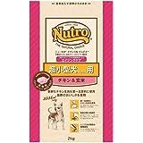 ニュートロジャパン ナチュラルチョイス [超小型4kg以下用] 7歳以上エイジングケア チキン&玄米 2kg
