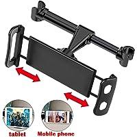 """SunTop Soporte Tablet Coche,Soporte, Soporte para movil, para el reposacabeza del Coche Soporte Base 360° Ajustable para 4""""~11"""" Tablets"""