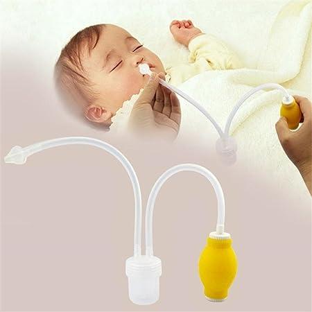 DeKaWei bebé aspirador nasal Snot ventosa, bebé Infant aspirador nasal eliminar la congestión eliminar mucosidad aspirador Nasal para congestión nasalclear: Amazon.es: Bebé