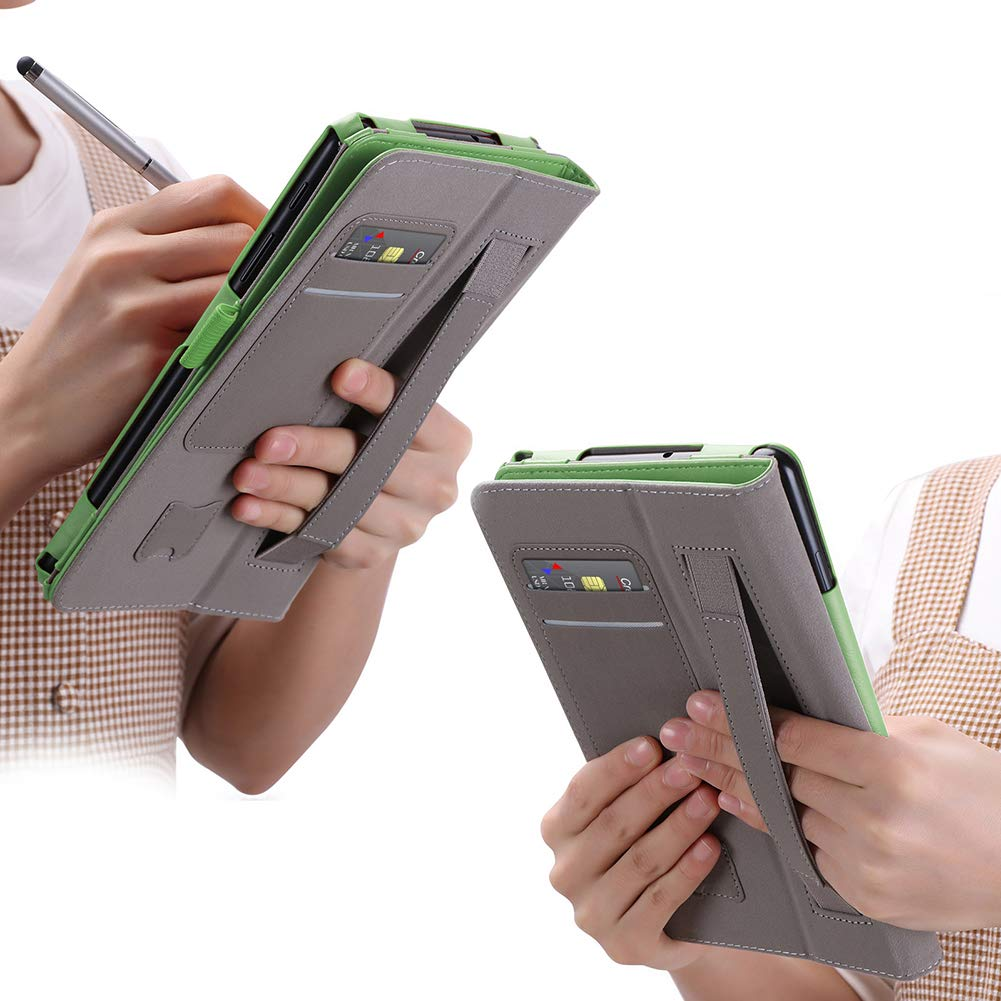 Galaxy TabPro S 12 Funda,ISIN Folio Funda Case Cover Carcasa con Stand Funci/ón para Samsung Galaxy TabPro S 12 de 12,0 pulgadas WIFI LTE SM-W700 W703 W708 2 en 1 Convertible Windows 10 Tablet PC con Correa para la Mano,Soporte para l/ápiz t/&aa